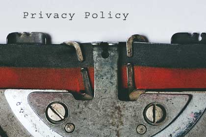 my privacy policy